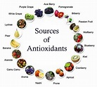Antioxidants are contained in fruits and vegetables.