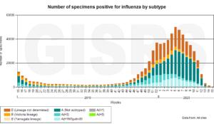 Cytokine winter vs summer flu