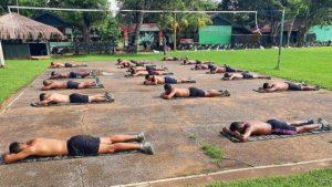 Indonesians fighting coronavirus in the sunlighto